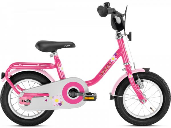 """Puky Z2 12"""" pink - Børnecykel - 2019"""