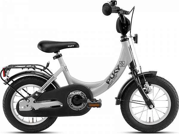 """Puky ZL 12-1 Alu 12"""" Grey - Børnecykel - 2020"""