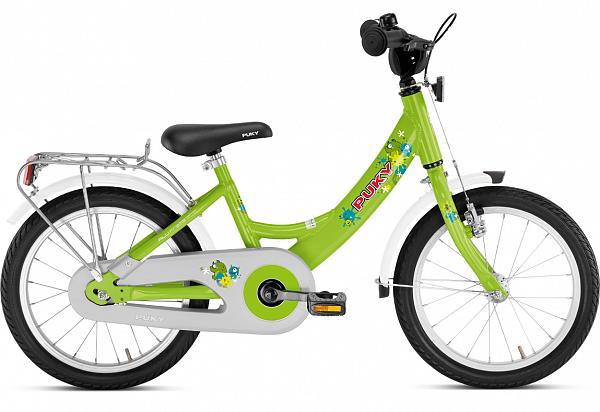 "Puky ZL 16 Alu 16"" grøn - Børnecykel - 2020"