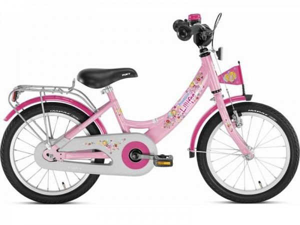 "Puky ZL 16 Alu Lillifee 16"" lyserød - Pigecykel - 2020"