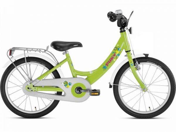 "Puky ZL 18 Alu 18"" grøn - Børnecykel - 2019"