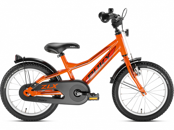 "Puky ZLX 16 Alu 16"" orange - Børnecykel - 2020"