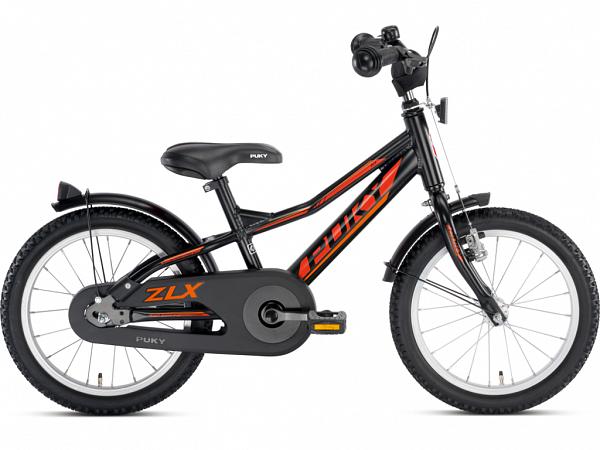 "Puky ZLX 16 Alu 16"" sort - Børnecykel - 2020"