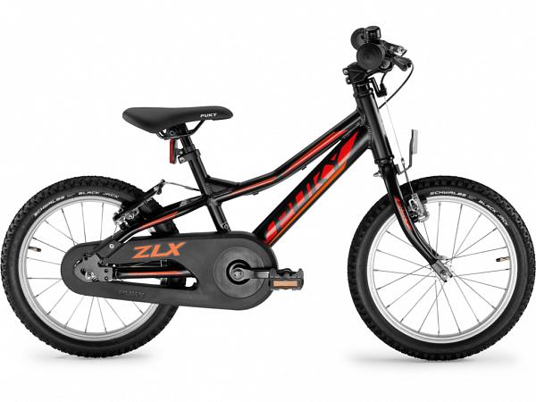 "Puky ZLX 16 Alu Friløb 16"" Black - Børnecykel - 2020"