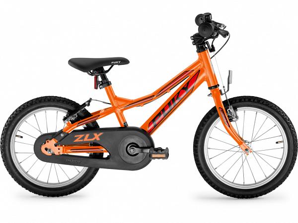 """Puky ZLX 16 Alu Friløb 16"""" Orange - Børnecykel - 2020"""