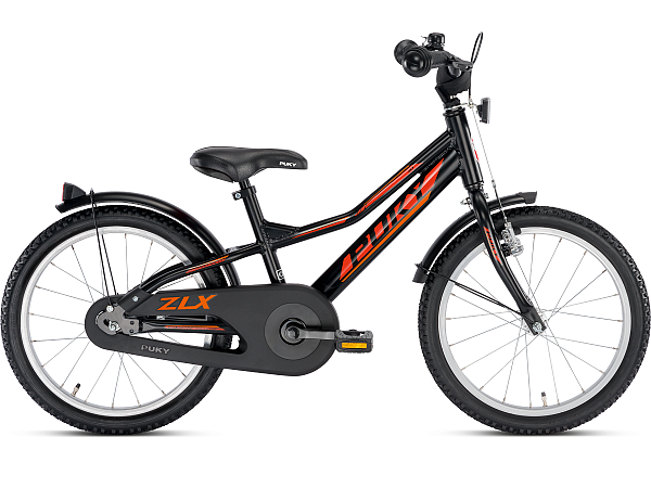 "Puky ZLX 18 Alu 18"" Black - Børnecykel - 2020"