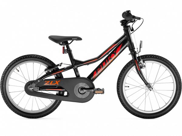 "Puky ZLX 18 Alu Friløb 18"" Black - Børnecykel - 2020"