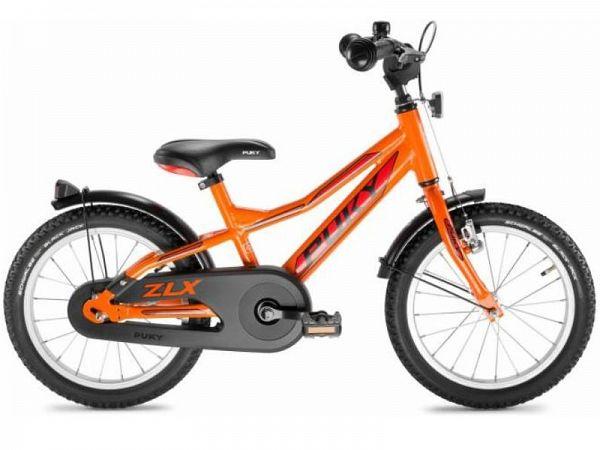 """Puky ZLX 18 Alu Friløb 18"""" orange - Børnecykel - 2019"""