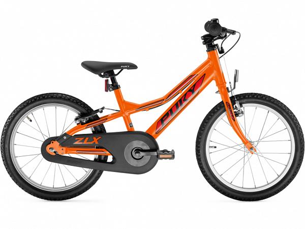 """Puky ZLX 18 Alu Friløb 18"""" Orange - Børnecykel - 2020"""