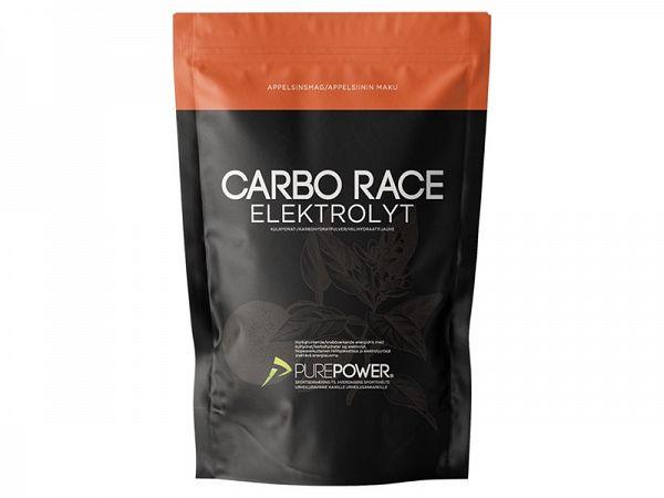 PurePower Carbo Race Appelsin Elektrolyt, 1 kg