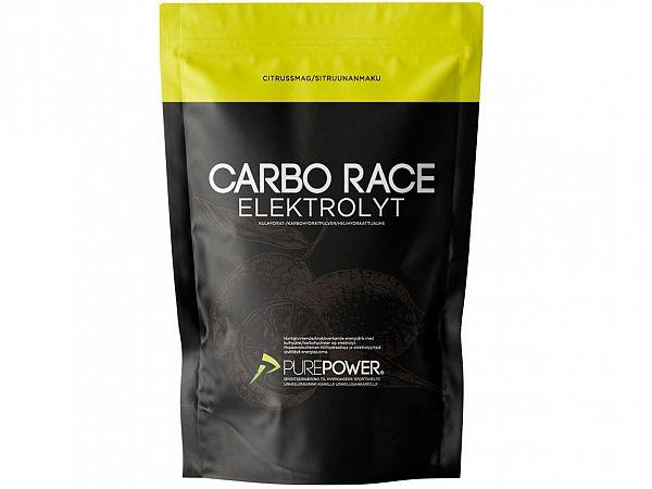 PurePower Carbo Race Citrus Elektrolyt, 1 kg