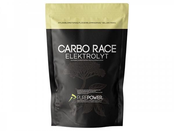 PurePower Carbo Race Hyldeblomst Elektrolyt, 1 kg