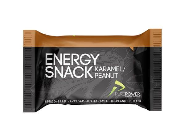 PurePower Energy Bar, Karamel + Peanut
