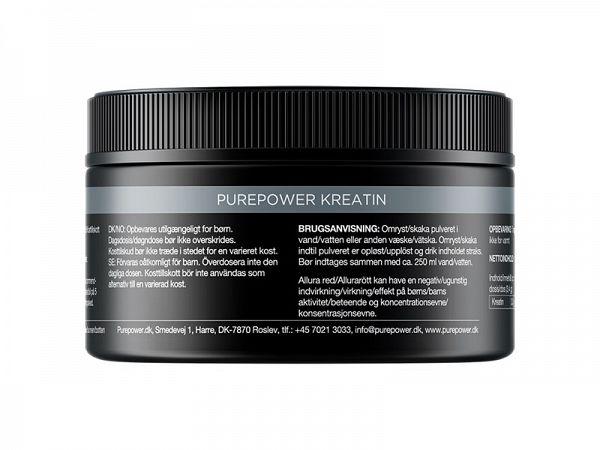 PurePower Supplements Neutral Creatine, 180 gr