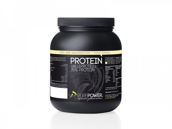 PurePower Vanilje Proteindrink, 1 kg
