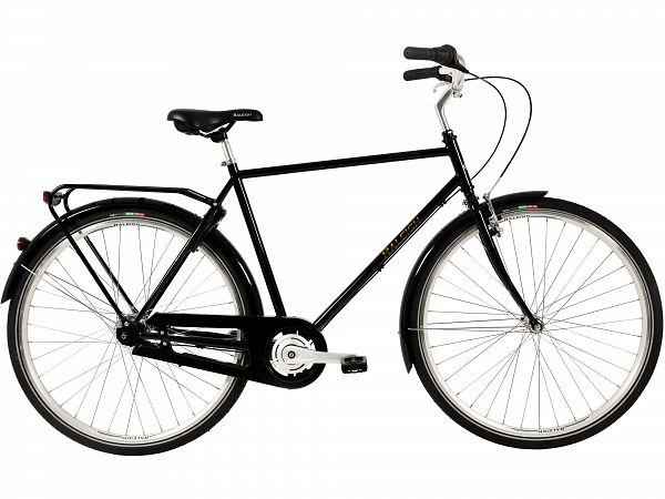 Raleigh Darlington 3G Black - Herrecykel - 2020