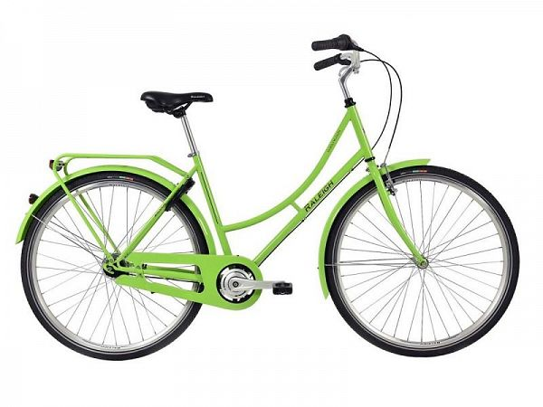 Raleigh Darlington 3G grøn - Damecykel - 2019
