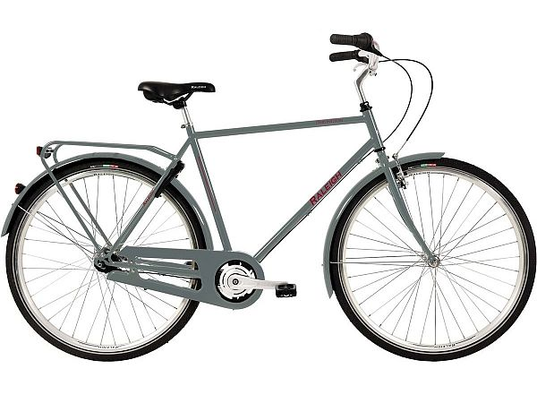 Raleigh Darlington 7G Grey - Herrecykel - 2020