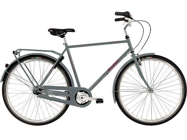 Raleigh Darlington 7G Grey - Herrecykel - 2020