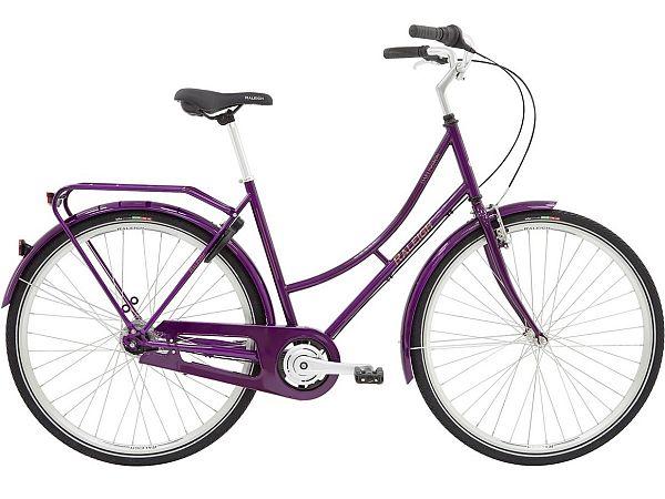 Raleigh Darlington 7G Purple - Damecykel - 2020