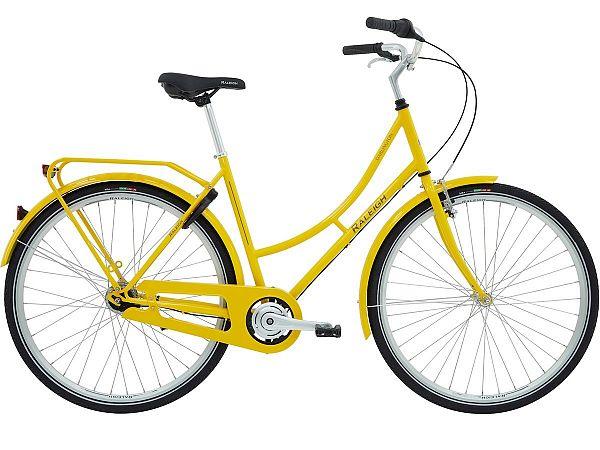 Raleigh Darlington 7G Yellow - Damecykel - 2020
