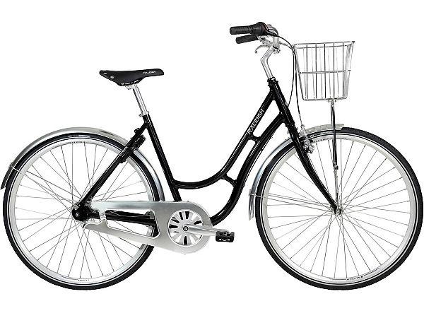 Raleigh Essex 7 Black - Damecykel - 2020