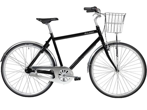 Raleigh Essex 7 Black - Herrecykel - 2020