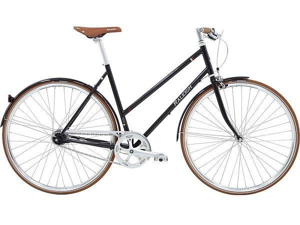 Raleigh Kent 3 Black - Damecykel - 2020