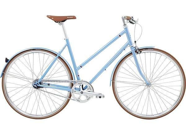 Raleigh Kent 7 Blue - Damecykel - 2020