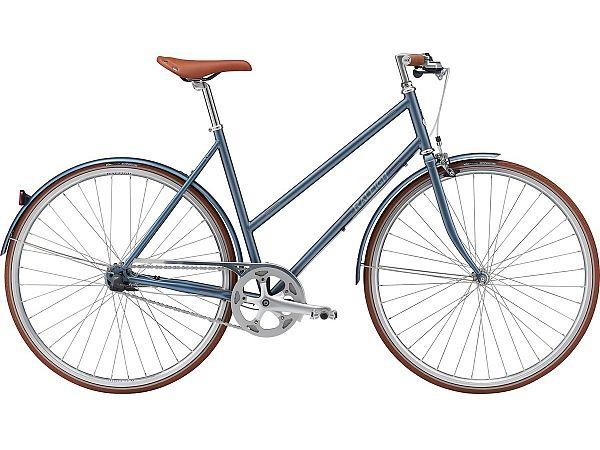 Raleigh Kent 7 Blue - Damecykel - 2021