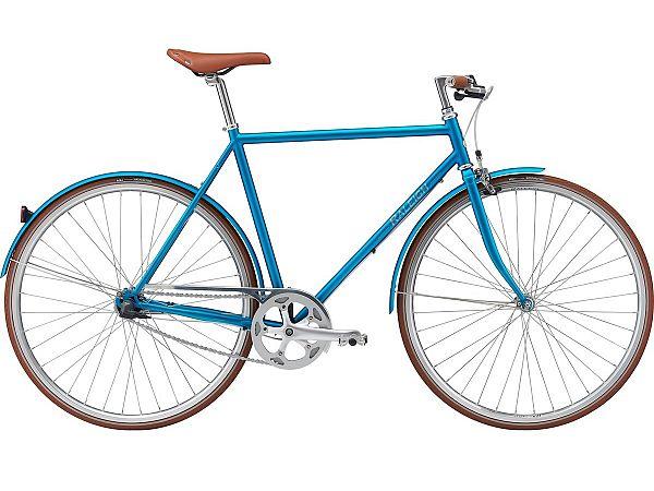 Raleigh Kent 7 Turquoise - Herrecykel - 2021