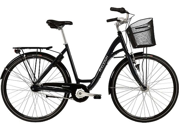 Raleigh Shopping Alu grå - Damecykel - 2019