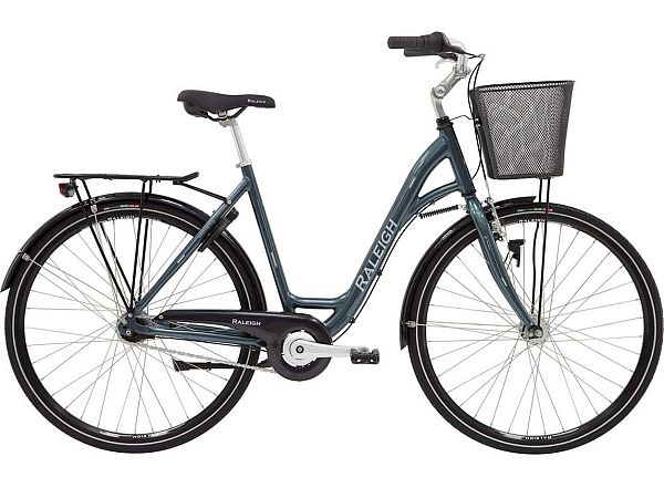 Raleigh Shopping Alu Petrol - Damecykel - 2020