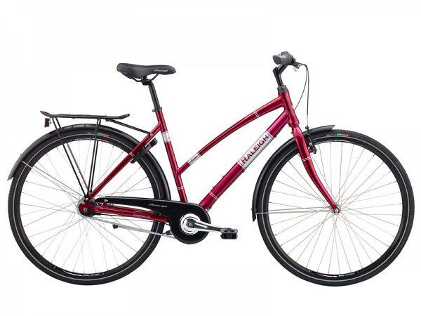 Raleigh Sidor rød - Damecykel - 2016