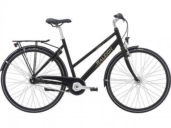Raleigh Sprite Alu Black - Damecykel - 2021