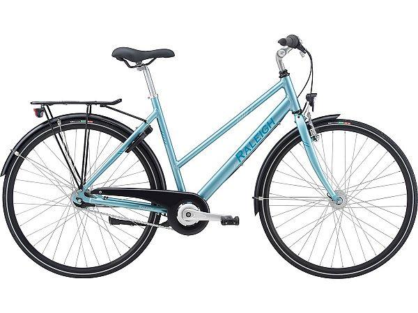Raleigh Sprite Alu Blue - Damecykel - 2021