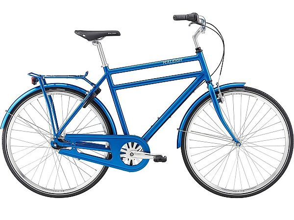 Raleigh Sussex Blue - Herrecykel - 2019