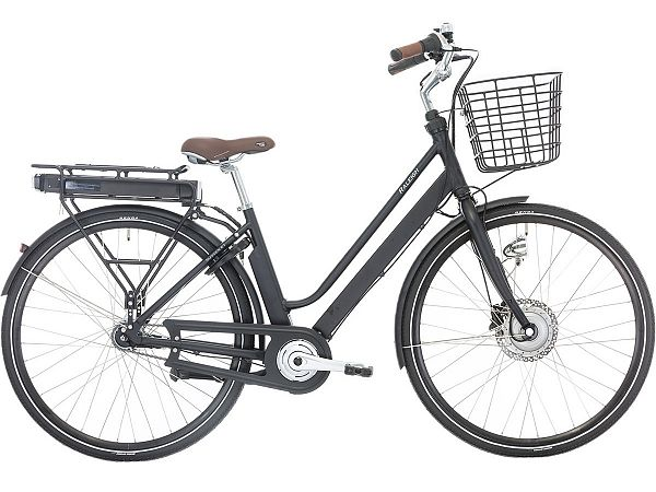 Raleigh Sussex E1 Black - Elcykel - 2021