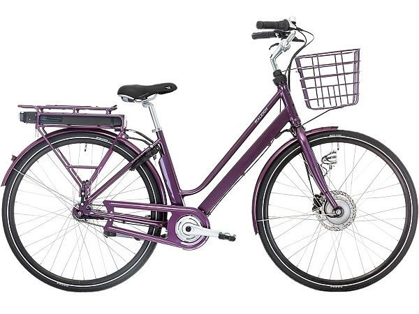 Raleigh Sussex E1 lilla - Elcykel - 2019