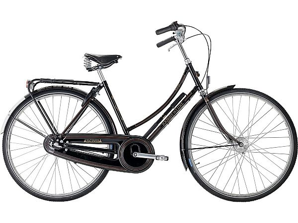 Raleigh Tourist de Luxe 3 sort - Damecykel - 2020