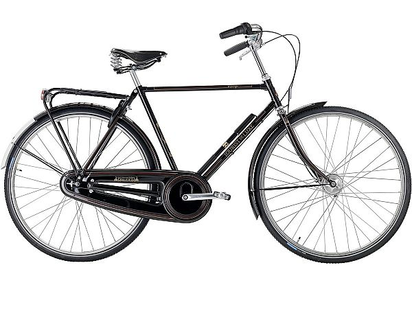 Raleigh Tourist de Luxe 3 sort - Herrecykel - 2020