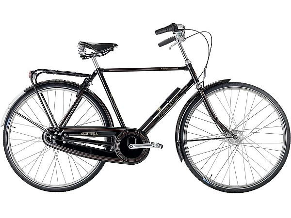 Raleigh Tourist de Luxe 7 sort - Herrecykel - 2020