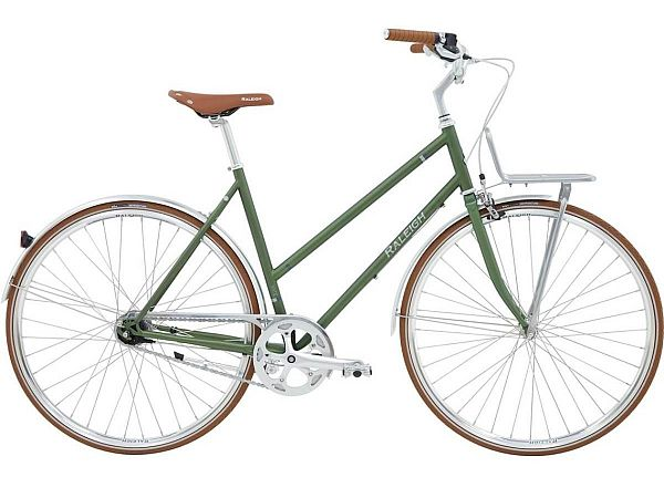 Raleigh Yate Cargo Green - Damecykel - 2021