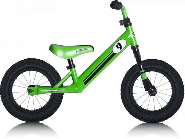 RebelKidz Air Steel - Løbecykel - 2019, Racing Green
