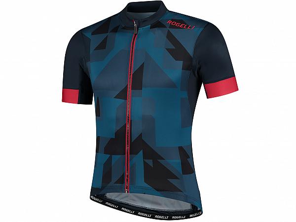 Rogelli Brisk Cykeltrøje, Blue/Red