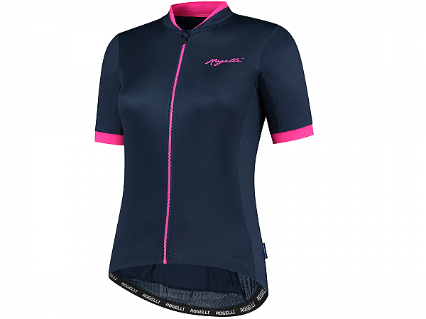 Rogelli Essential Lady Cykeltrøje, Blue/Pink
