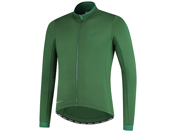 Rogelli Essential LS Cykeltrøje, Army Green