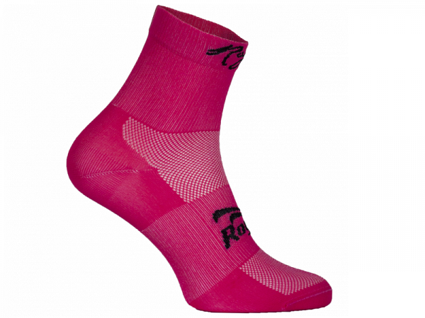 Rogelli Q-Skin Cykelstrømper, Pink