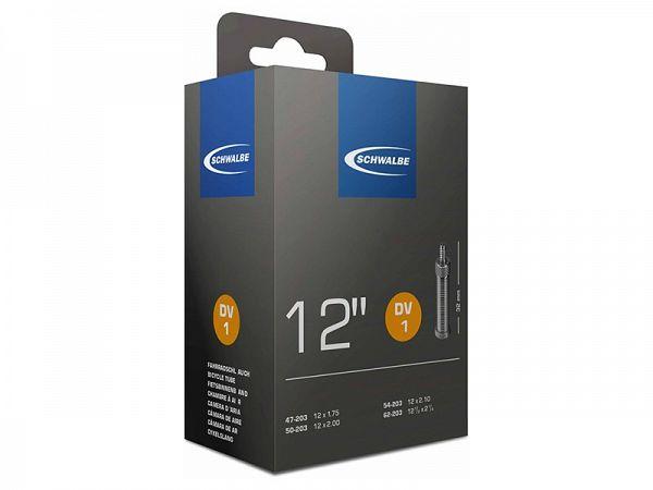 Schwalbe Cykelslange 12 x 1.75-2.25, Dunlop Ventil (DV1)