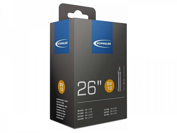 Schwalbe Cykelslange 26x1.50 - 2.50 40mm Dunlop Ventil (DV13)